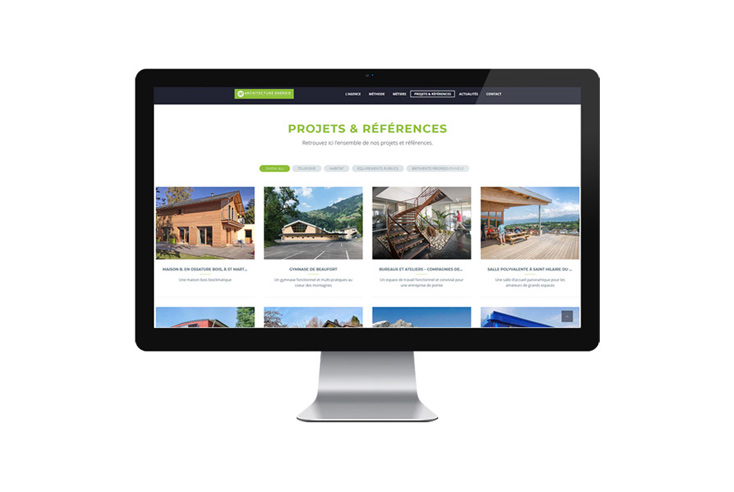 SITE WEB – Architecture Energie