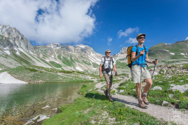 PHOTOS – Randonnée GR5 Alpes