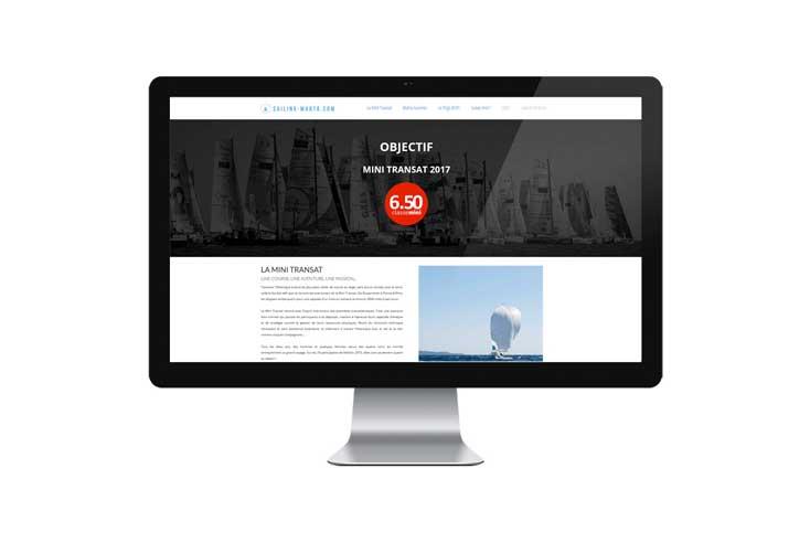 SITE WEB – Sailing Marta