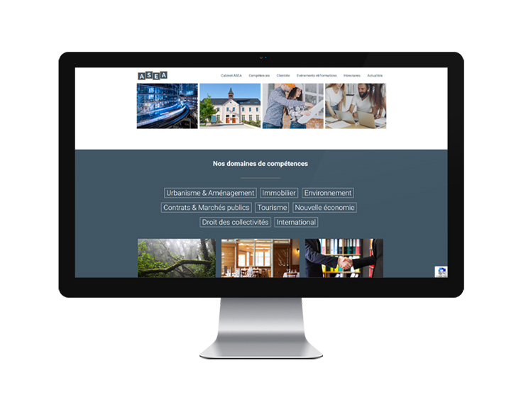 SITE WEB – ASEA Avocats