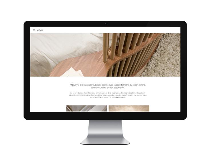 SITE WEB – A la Galicière