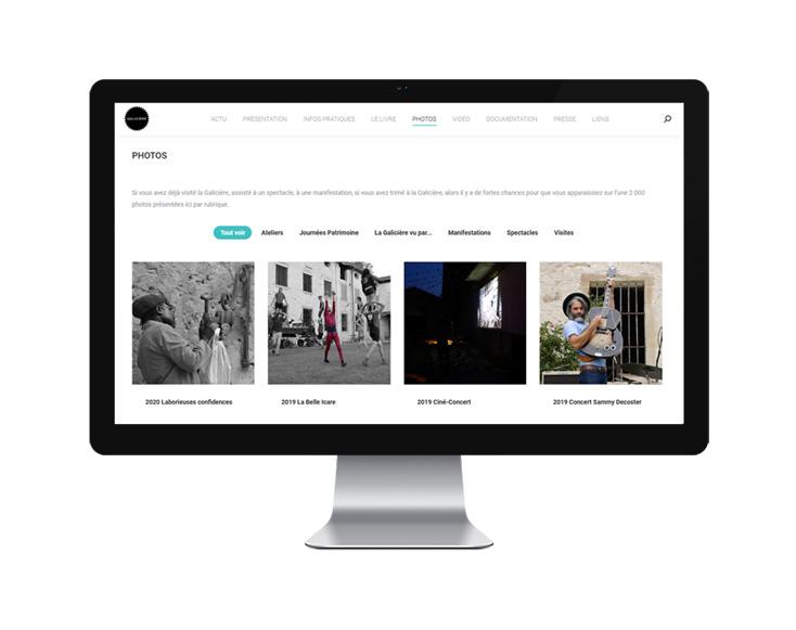 SITE WEB – Amis de la Galicière